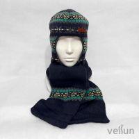Комплект ЖакРи шапка шлем и шарф