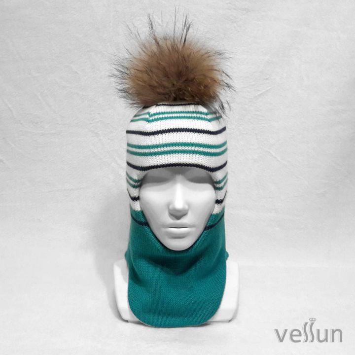 Шапка – шлем детская для девочки и мальчика