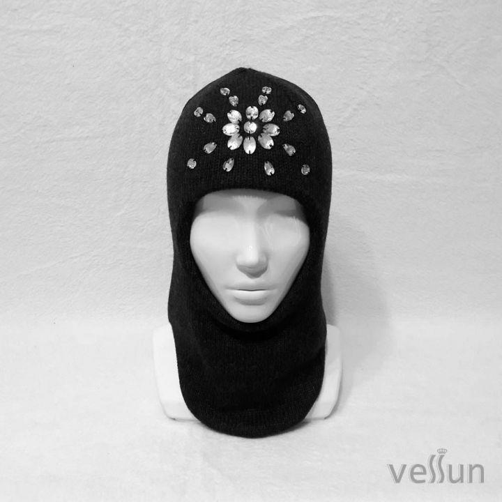 Шапка – шлем однотонная «Северное сияние»