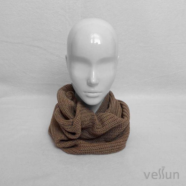 Модный, стильный шарф - снуд в один оборот для мальчика или девочки